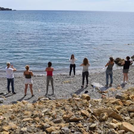 Masterclass ibiza personality oefeningen strandje